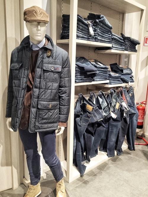 мужская одежда со скидками в аутлете Милана Серравале