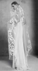 свадебное платье и фата Elie Saab bridal 2018