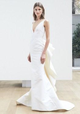 свадебное платье Oscar de la Renta Spring 2018 Wedding