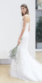 кружевное платье Oscar de la Renta Spring 2018 Wedding Dress Collection