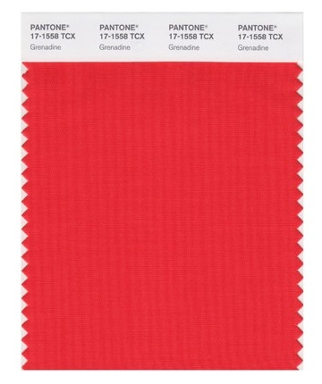 PANTONE 17-1558 Grenadine - Гренадин