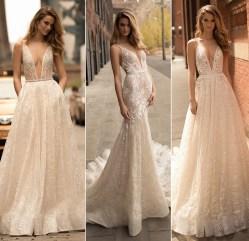 Berta блестящее свадебное платье 2018