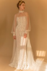 свадебное платье закрытое 2018 Francesca Miranda