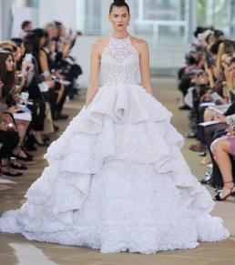 свадебное платье с американской проймой 2018 Ines di Santo