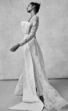 модное свадебное платье 2018