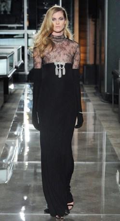 свадебный тренд Черное свадебное платье Reem Acra 2018