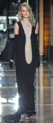 необычное модное Черное свадебное платье Reem Acra 2018