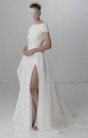 свадебное платье с разрезом 2018 Rita Vinieris