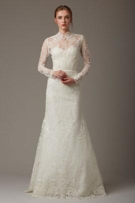свадебное платье закрытое 2018 Lela Rose