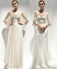 свадебное платье с кейпом Alon Livne 2018