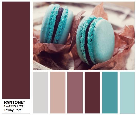 Tawny Port Портвейн тони - цветовые комбинации
