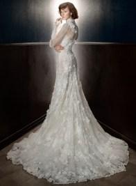 свадебное платье с длинным руковом Galia Lahav Bridal Spring 2018