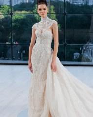 свадебное платье закрытое горло 2018 Ines Di Santo