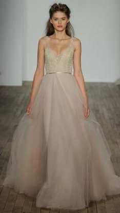 Lazaroсвадебное платье розового пудрового цвета