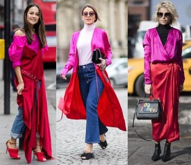 тренд весна-лето розовый и красный