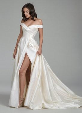 свадебное платье с разрезом Tara Keely