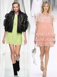 модный тренд весна лето 2017 - рюши и воланы