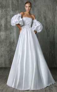 Victoria Kyriakides свадебное платье с пышными руковами 2018