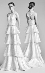 модный тренд свадебное платье с жемчугом 2018 Viktor & Rolf