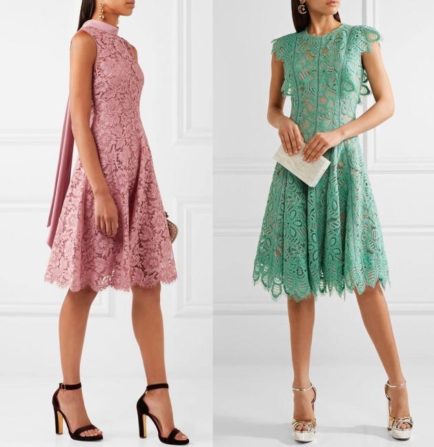 кружевное платье на свадьбу для гостей