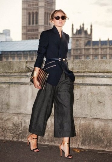 Olivia Palermo in culotte