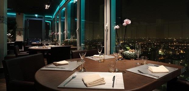 ресторан в милане с красивым видом Unico Milano