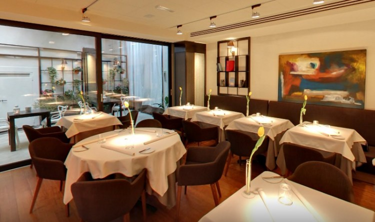 Ресторан в милане milano ristorante Essence