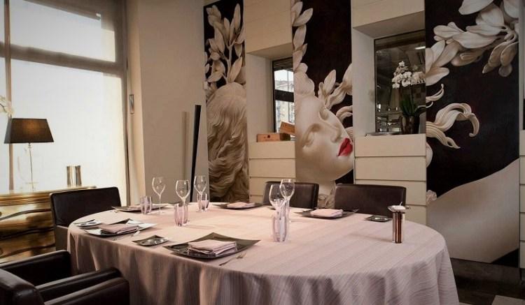 ресторан в милане Sadler