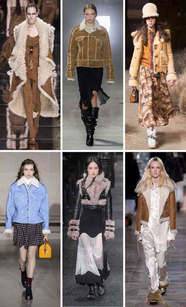 модные дубленки овфина тренд осень зима 2018 2017