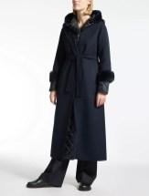 пуховик+длинное пальто Max Mara