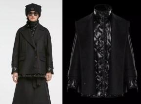 итальянский модный пуховик - пальто Монклер 2018