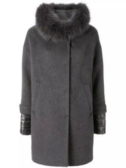 итальянский модный пуховик Herno пальто на пуху и