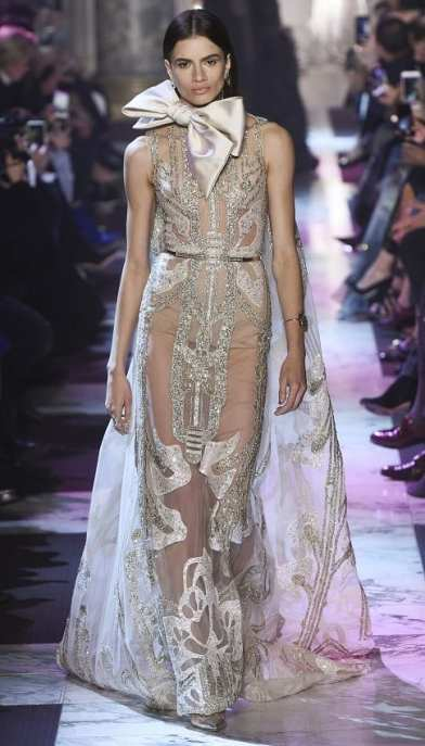 wedding dress Elie Saab HAUTE COUTURE S S 2018