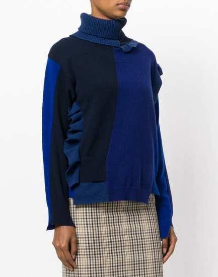 Erica Cavallini модный пуловер свитер италия