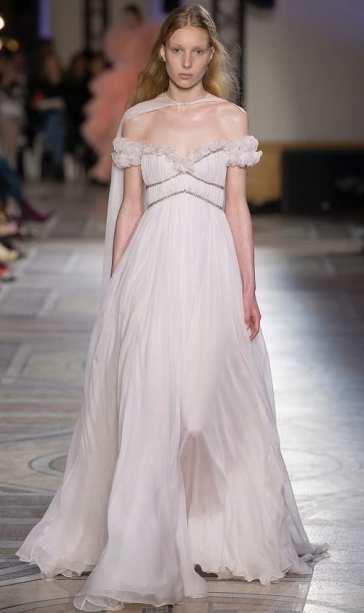 Свадебное платье в греческом стиле свадебное платье Giambattista Valli 2018