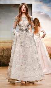 самое красивое платье 2018 Ziad Nakad Couture SS18 оригинальная вышивка