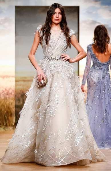 самое красивое платье 2018 Ziad Nakad Couture SS18 вышивка