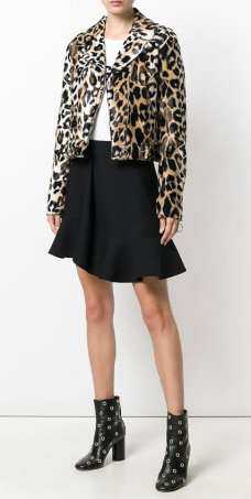 jeremi scott модный леопардовый принт 2018