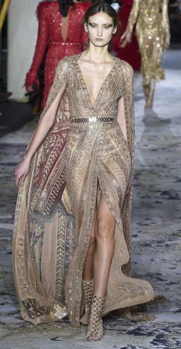 свадебное платье с кейпом zuhair murad couture 2018