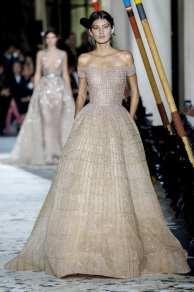 красивое свадебное платье с вышивкой zuhair murad couture 2018