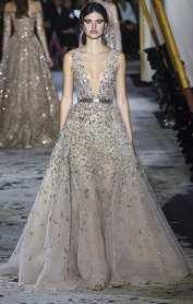 самое красивое свадебное платье двойная юбка вышивка zuhair murad couture 2018