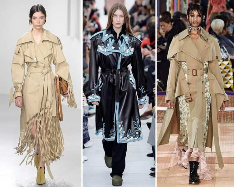 spring 2018 fashion trend trench