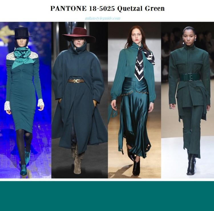PANTONE 18-5025 Quetzal Green – Зеленый кетцаль