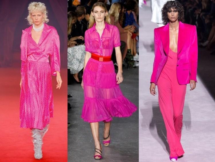 magenta fashion 2018