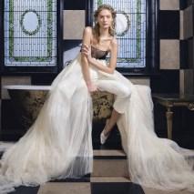 модный свадебный наряд с брюками 2019 danielle franke