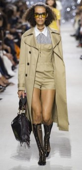 тренч Dior мода весна лето 2018