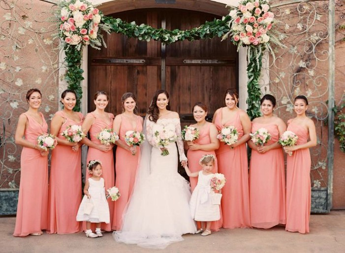 wedding color trend 2018 Blooming Dahlia.