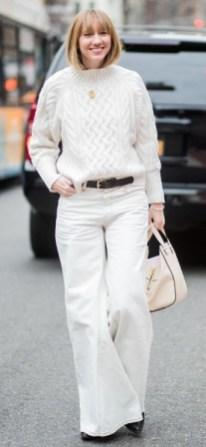 что модно весна 2018 как носить широкие брюки