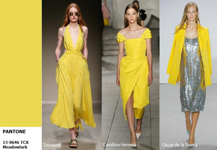 spring summer 2018 Color trend meadowlark_yellow