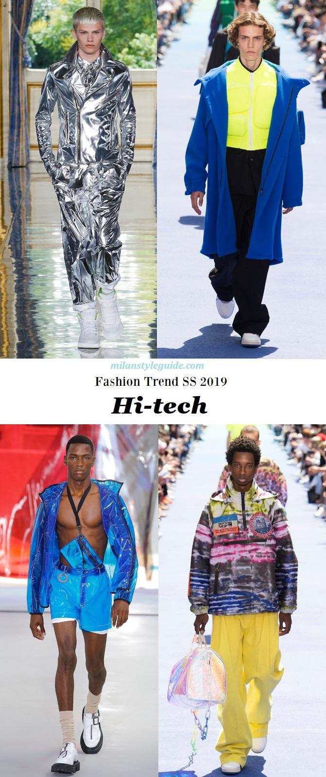 133d40f3cb941 Главные модные тенденции мужской моды сезона Весна-Лето 2019 -